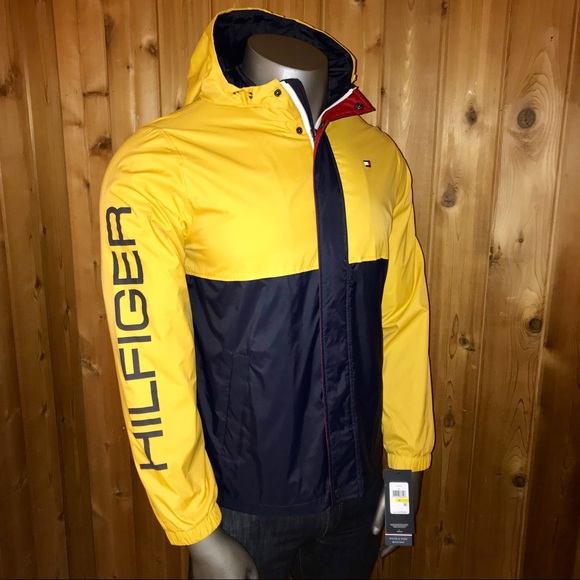 f7cce9bd Tommy Hilfiger Jackets & Coats | Nwt Windbreaker Mens Large Jacket ...